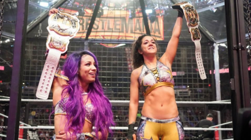 WWE Elimination Chamber Review: Sasha Banks & Bailey Become the First Ever Women's Tag-Team Champions!!