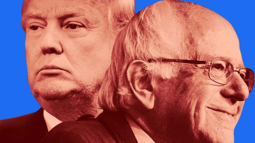 Donald Trump And Bernie Sanders Are Cut From the Same Cloth (an Essay)