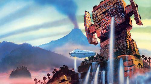 Chris Foss Sci-Fi Starship Artist