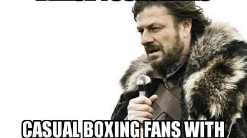 A Message to the Casual Viewers of Boxing Like Stephen A. Smith