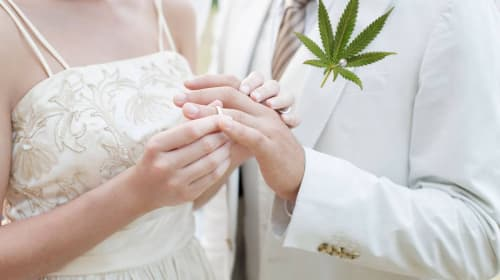 Creative Ways You Can Add Cannabis to Your Wedding