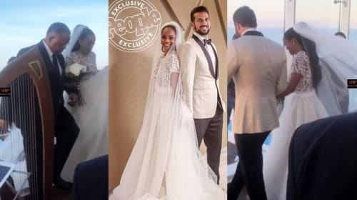 'The Bachelorette' Season 13 Star Rachel Lindsay and Bryan Abasolo Marry