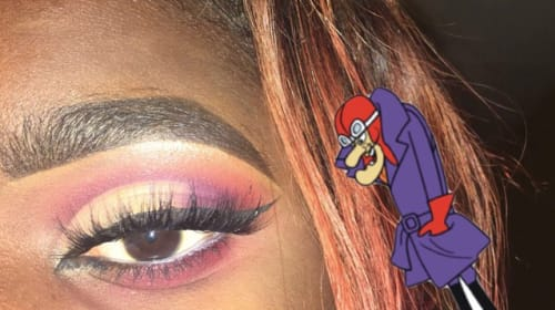 🔥 Dick Dastardly Eyeshadow Look