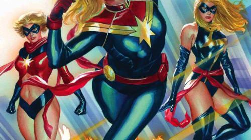 The Top 5 Looks of Carol Danvers