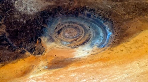 Lost City of Atlantis-Richat Structure