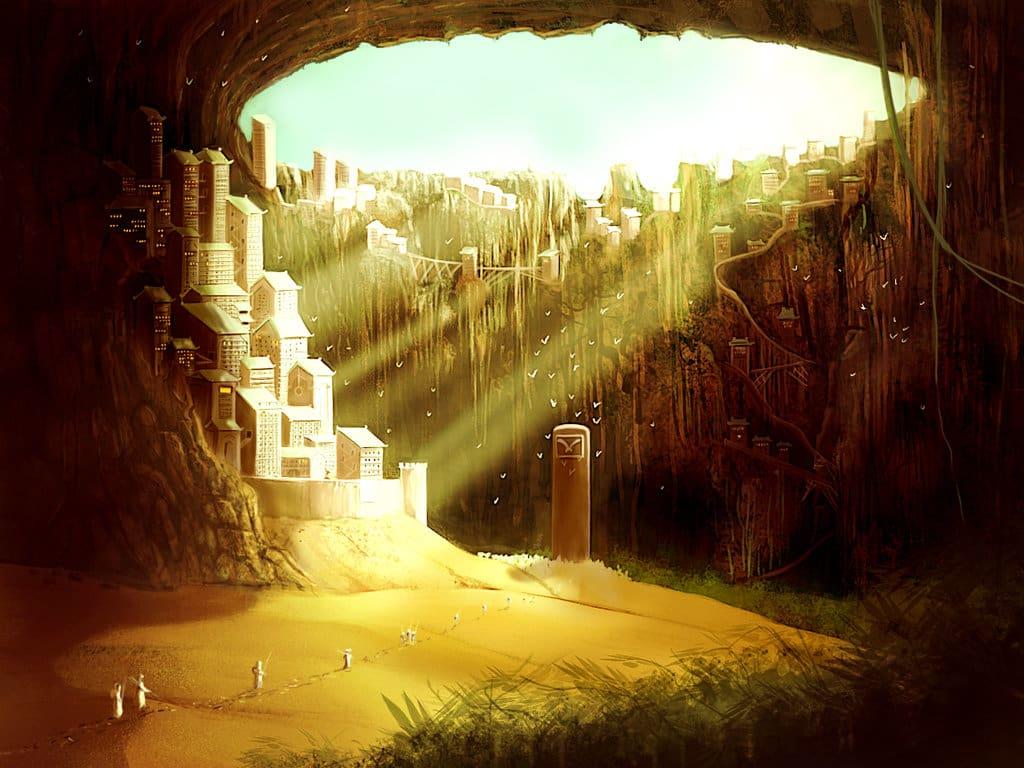 Cave City by richardhanuschek on deviant art