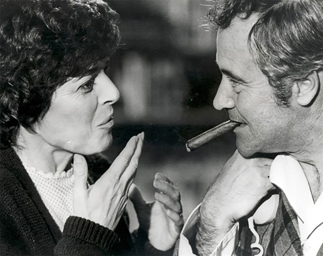 Anne Bancroft and Jack Lemmon