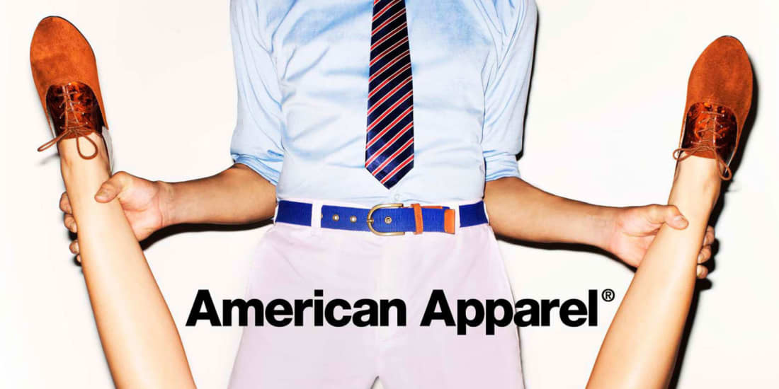 Ad by American Apparel