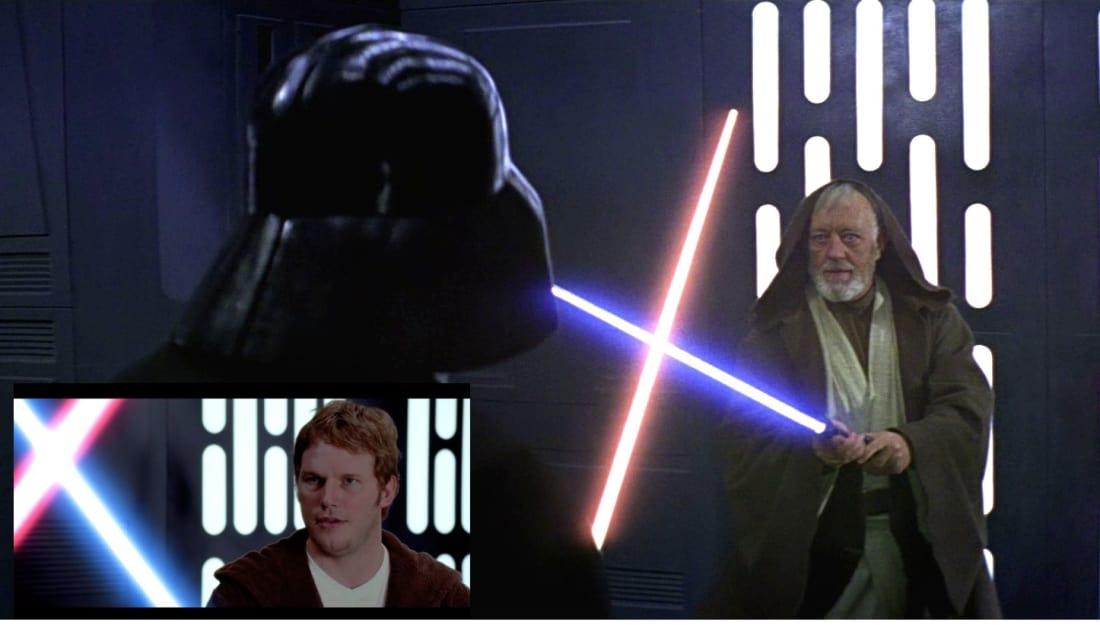 Vader Versus Obi-Wan