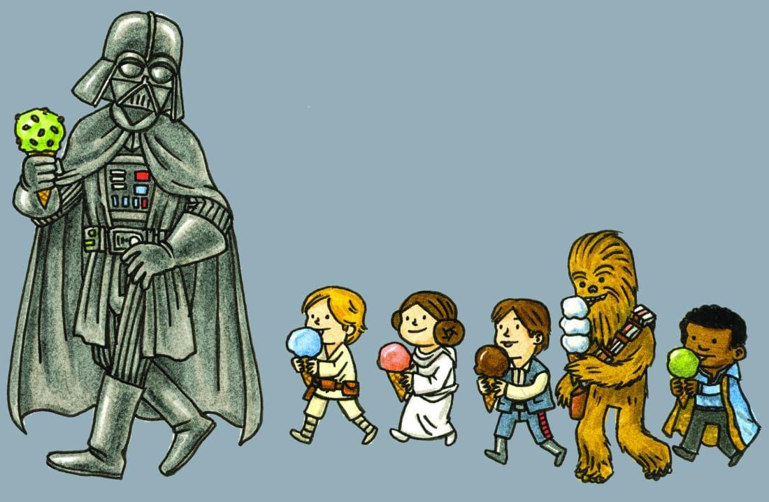 Kid Friendly Star Wars Books