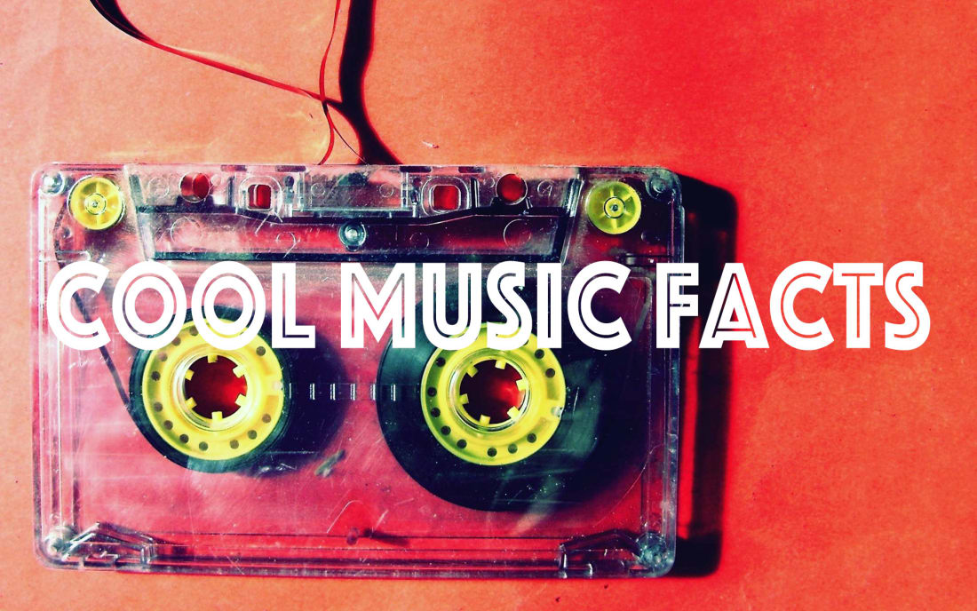 Cool Music Facts You Didn't Know