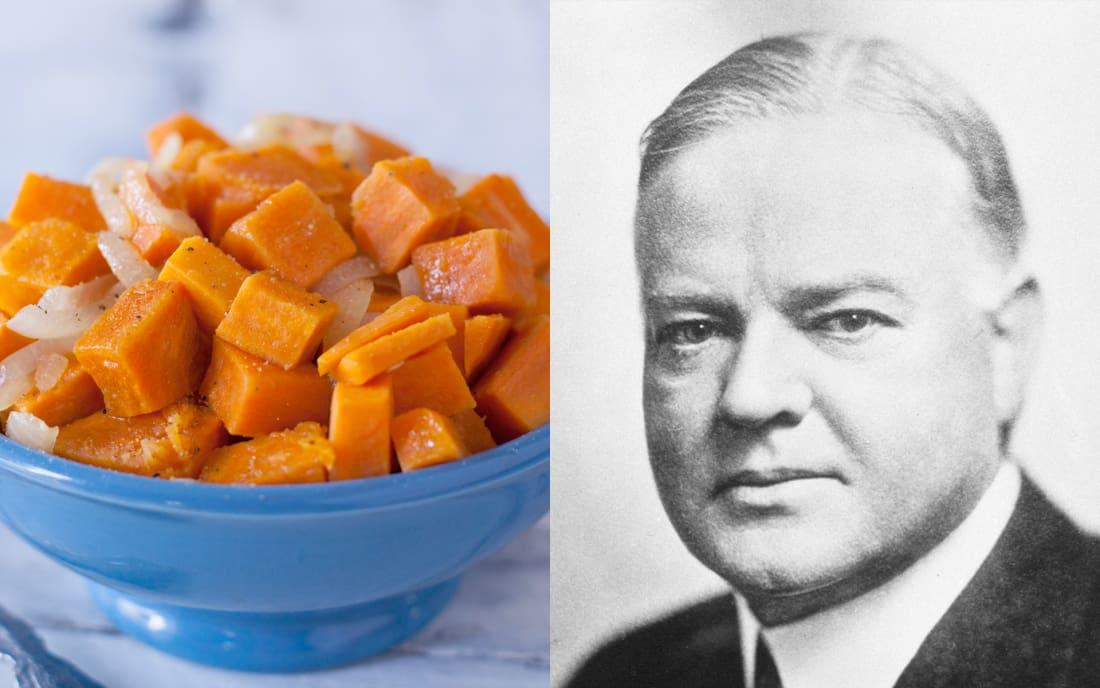 Herbert Hoover: Sweet Potatoes