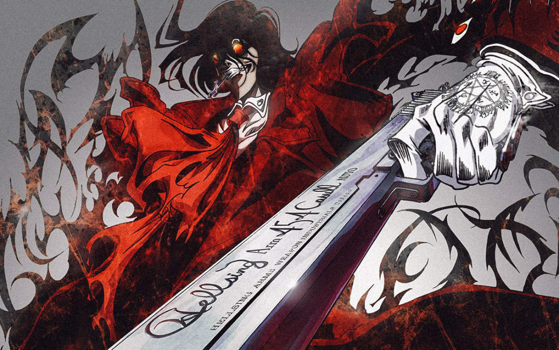 Another Vampire Anime Hellsing Ultimate Is Probably One Of The Bloodiest Escapades Youll Ever Witness After Being Defeated By Van Helsing Years Before
