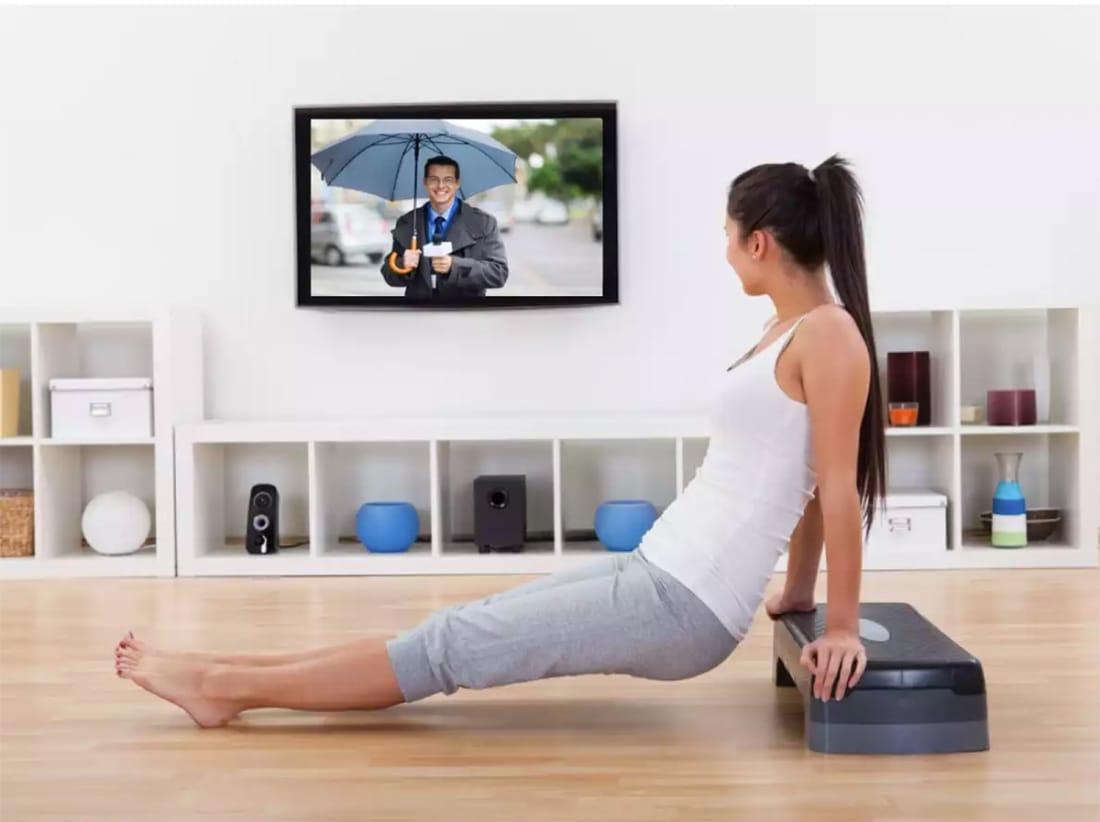 Make TV Time Workout Time