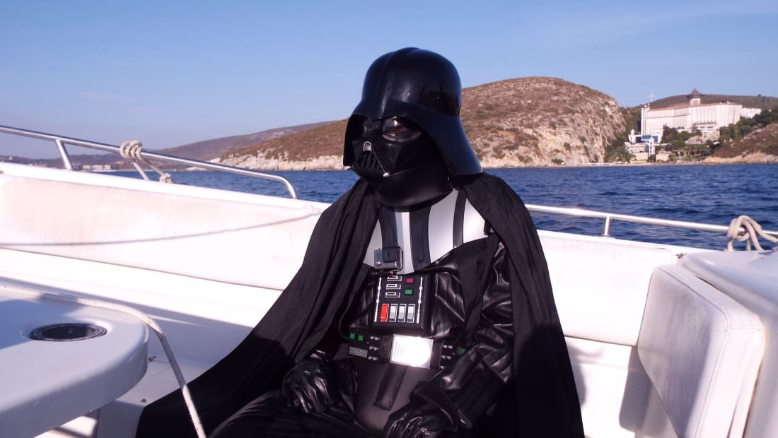 Parody Vader on Vacation