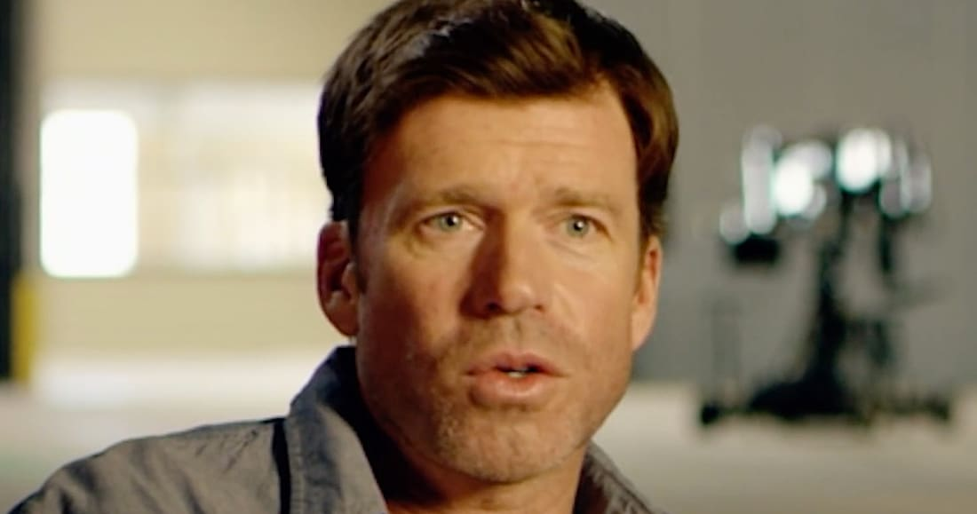 Taylor Sheridan (Screengrab from You Tube page for Movie Times website — http://movie-times.net)