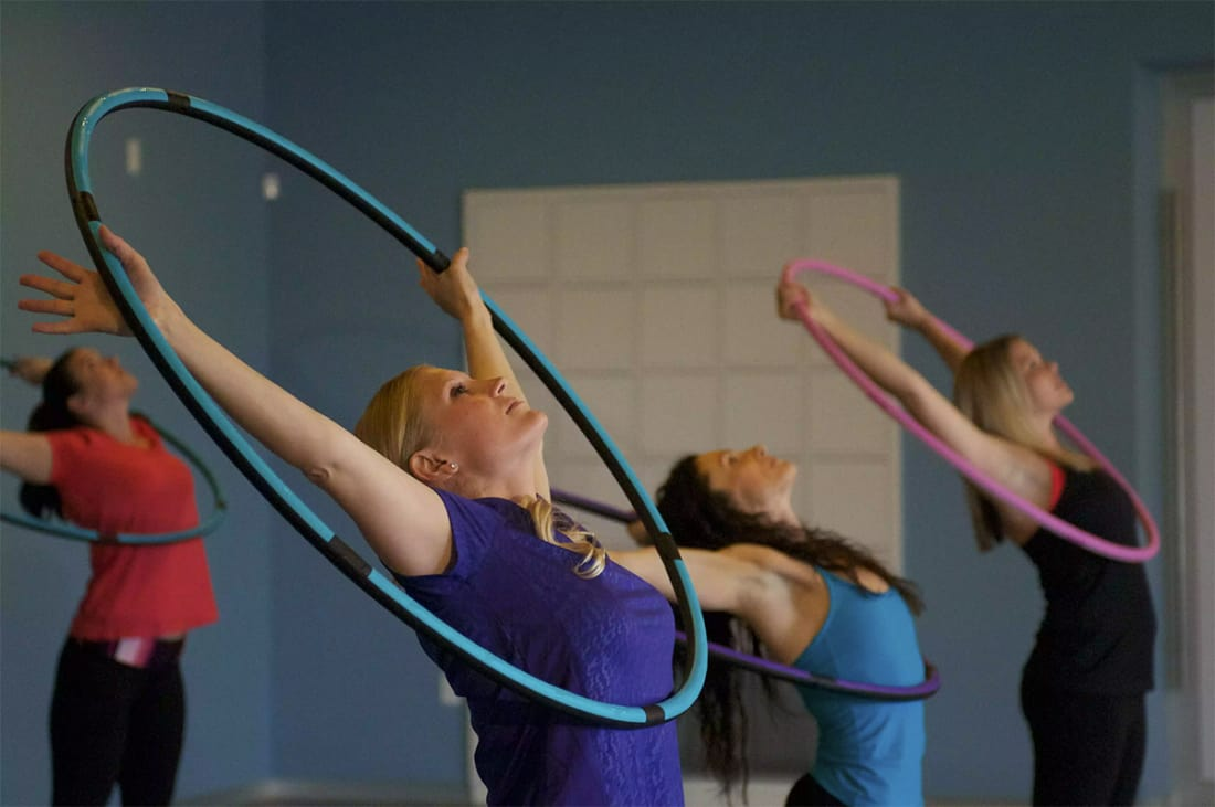 Surprise! Hula Hoops Also Provide Great Workout