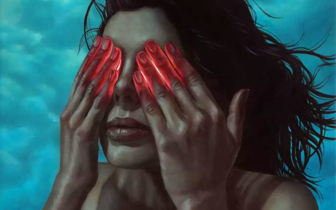 Painting by Casey Weldon