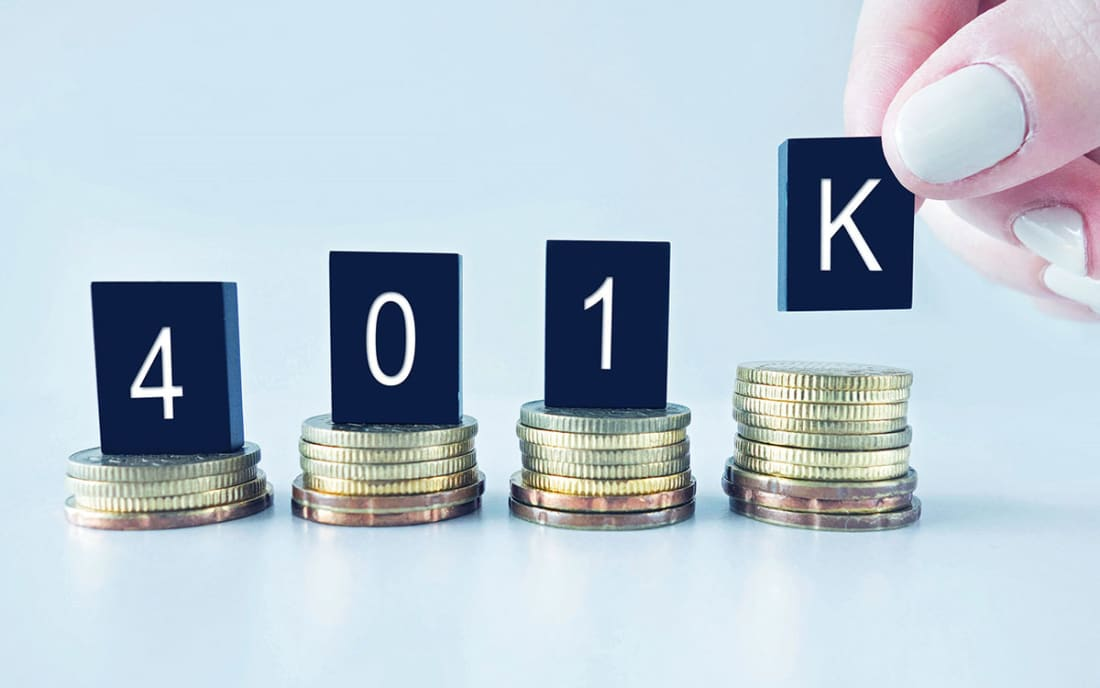 Flat 401(k) Contributions