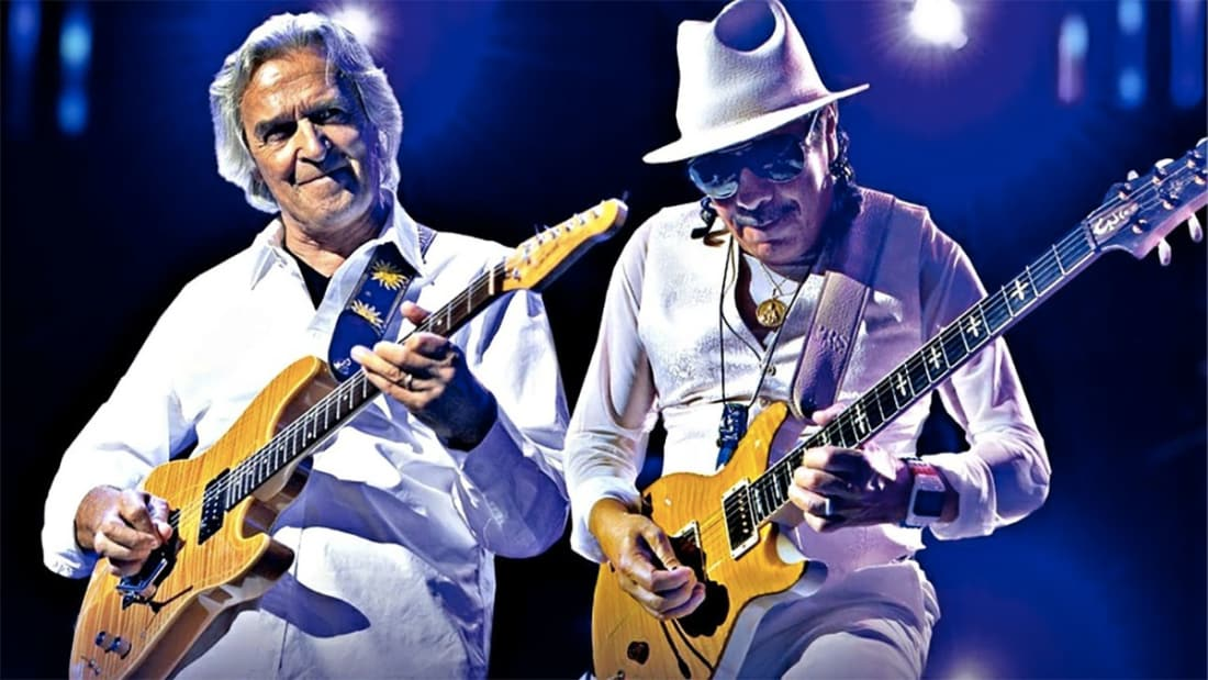 John McLaughlin and Carlos Santana Live at Montreux Jazz Festival, 2011