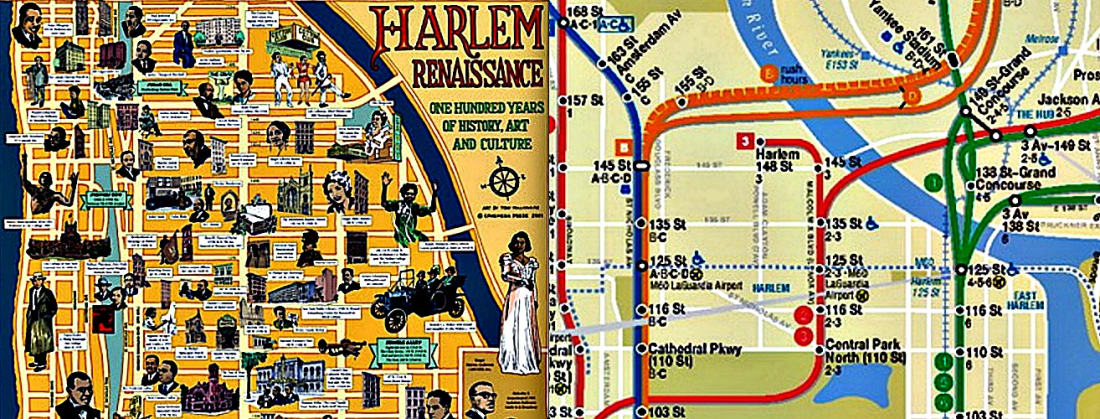 There's every good reason to take note of this latest renaissance that's got a lot in common with the first one. Including the name of the place that birthed them both. (Left: Ephemera Press [ephemerabooks.com]; right: map detail, Metropolitan Transportation Authority)