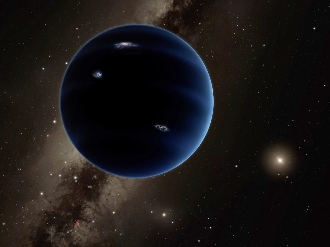 Astronomers are still searching for the hypothetical Planet 9, and now four new objects discovered may be possible candidates. Image Credit: Caltech/R. Hurt (IPAC)
