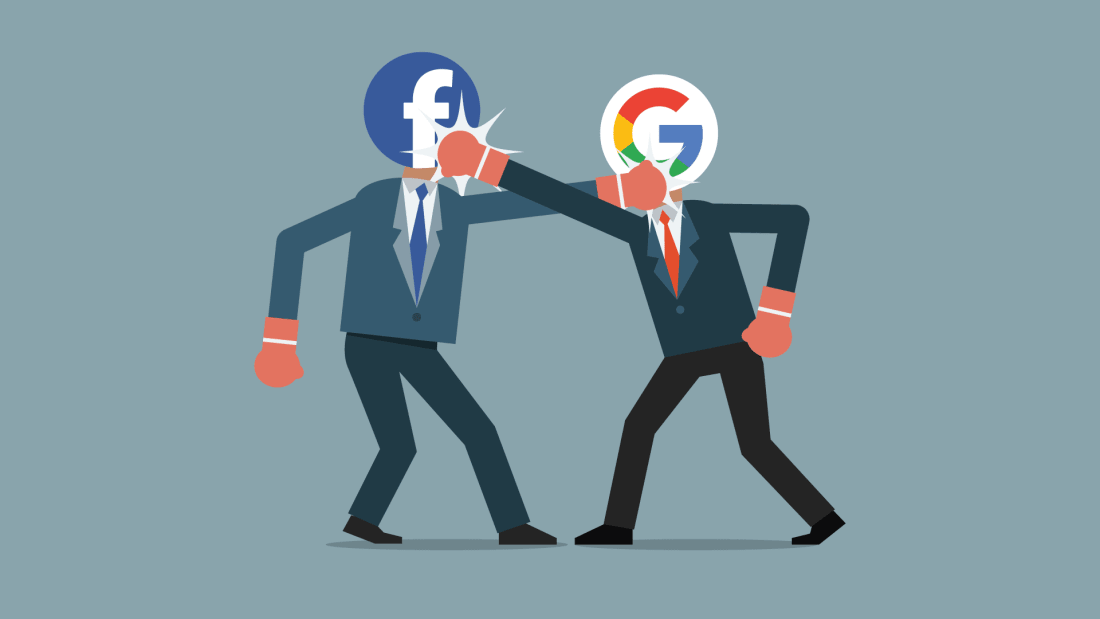 Facebook v. Google: Battle of the Search Engines