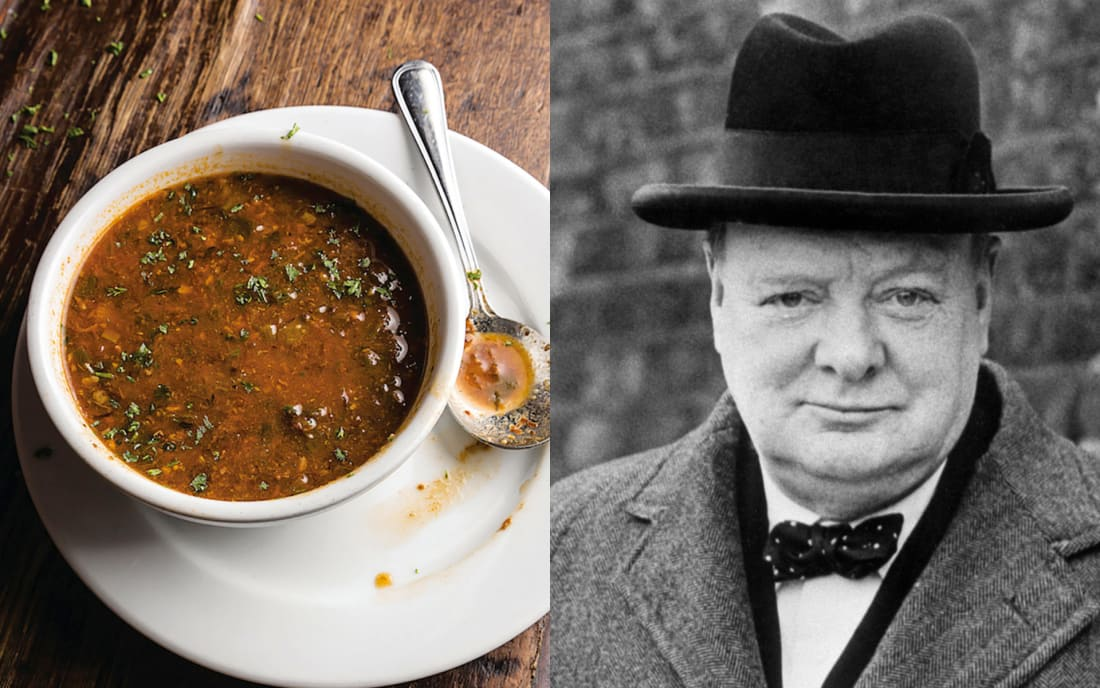 Winston Churchill: Turtle Soup