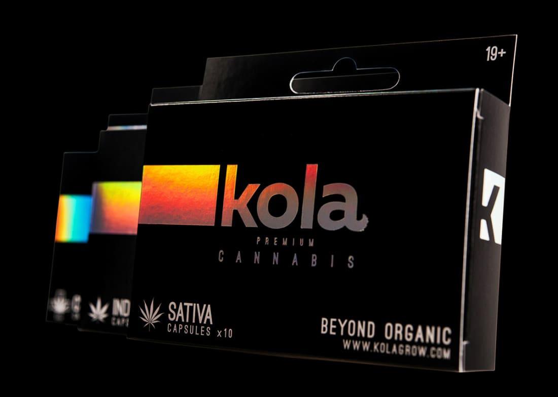 Kola Premium Cannabis by Hired Guns Creative