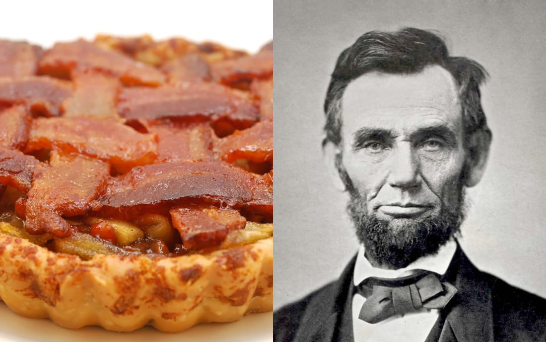 Abraham Lincoln: Apples, Coffee, And Bacon