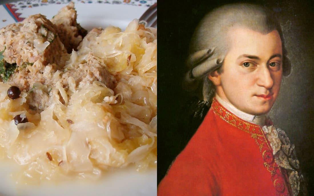 Mozart: Liver Dumplings And Sauerkraut