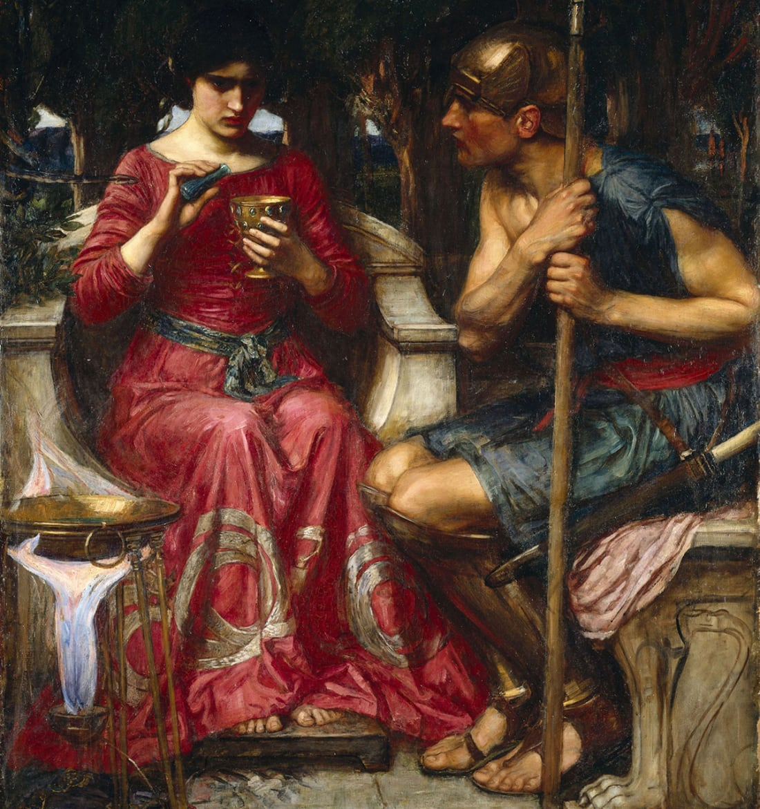 Artwork by John William Waterhouse