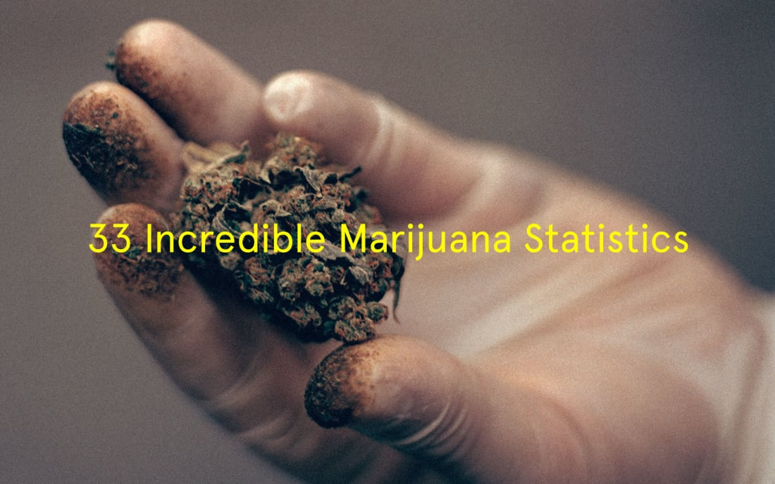 33 Incredible Marijuana Statistics