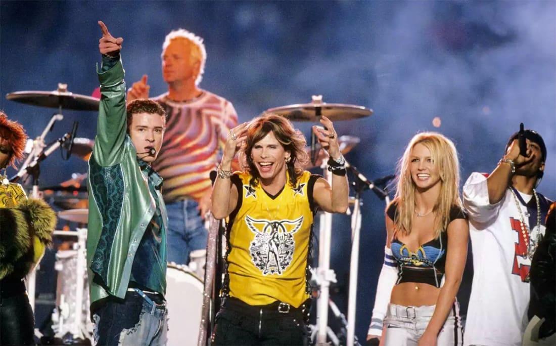 Aerosmith, N'Sync, Britney Spears (2001)
