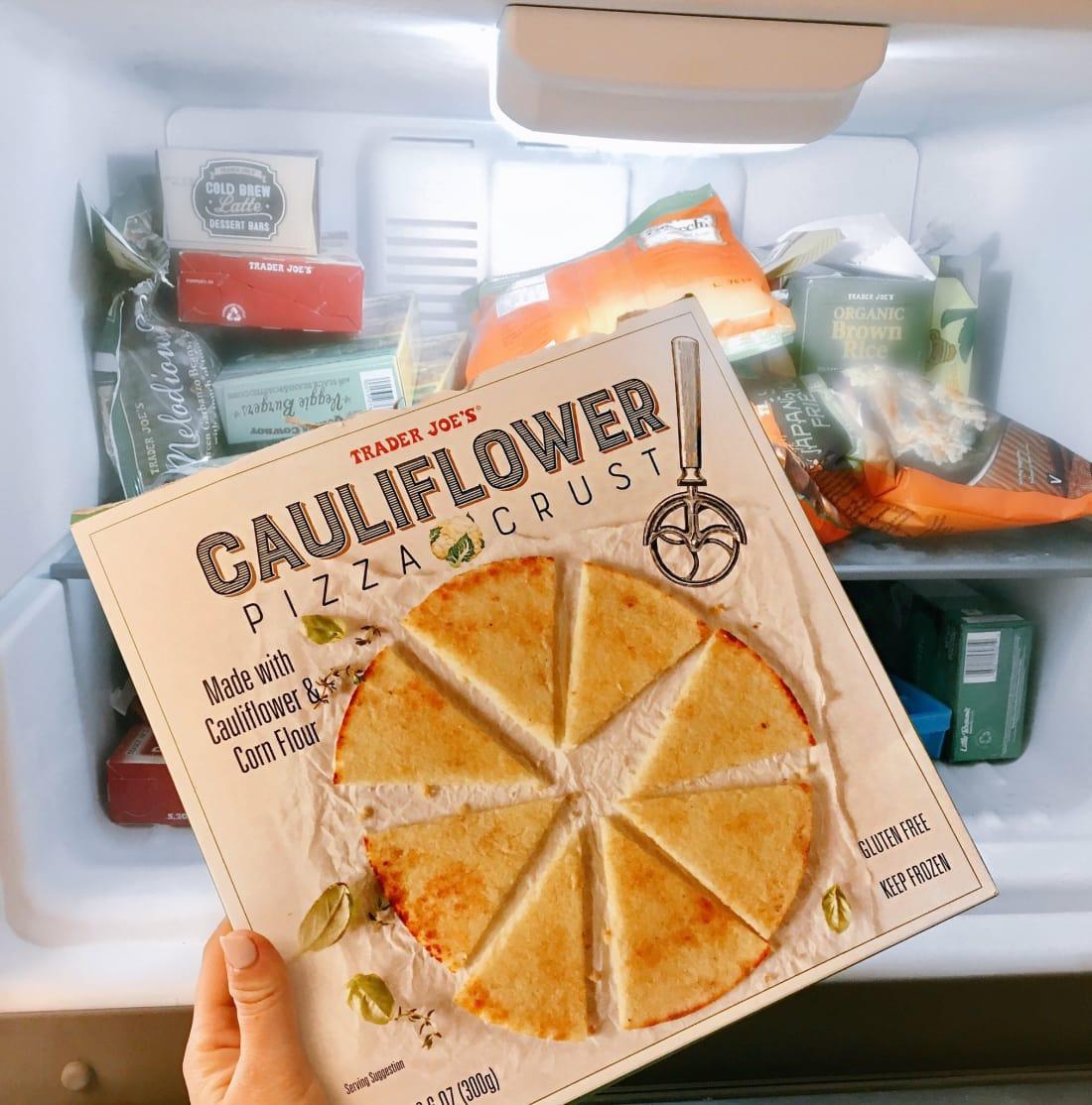 Trader Joe's Frozen Cauliflower Pizza Crust
