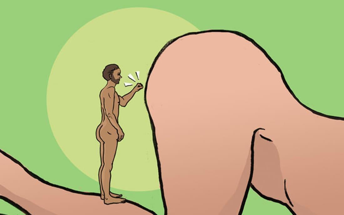 Sexy nude asian girl legs