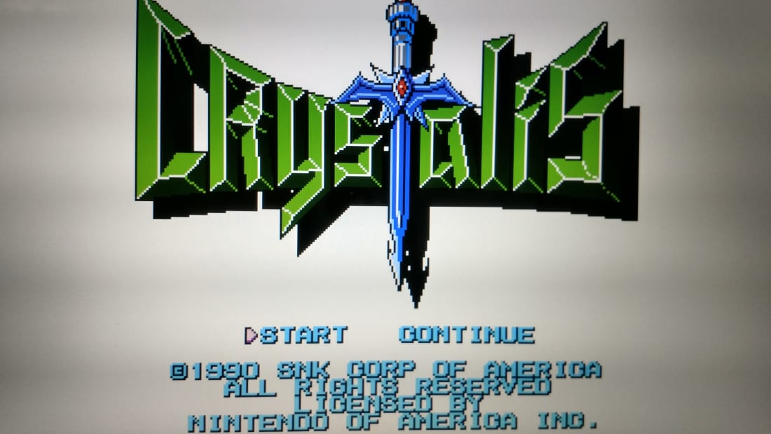 Crystalis for the NES