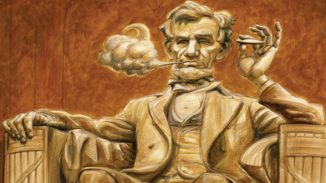 Did Abraham Lincoln Smoke Pot?