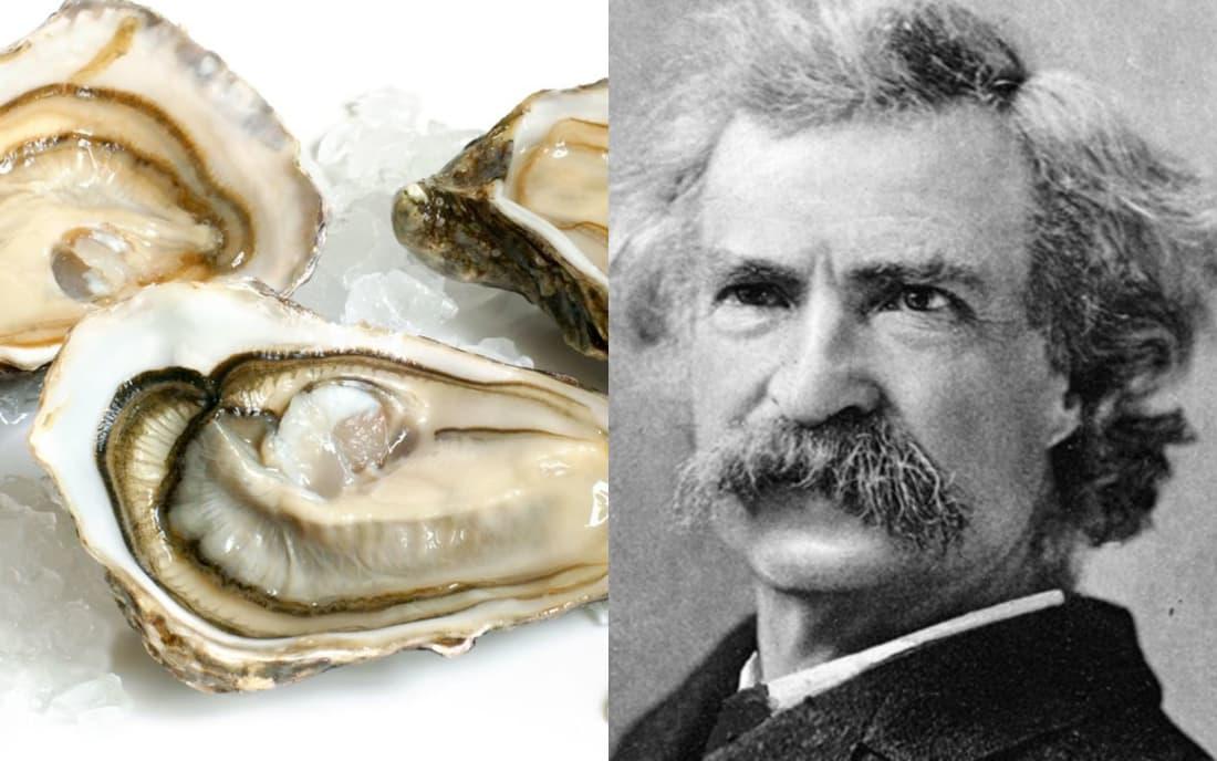 Mark Twain: Oysters