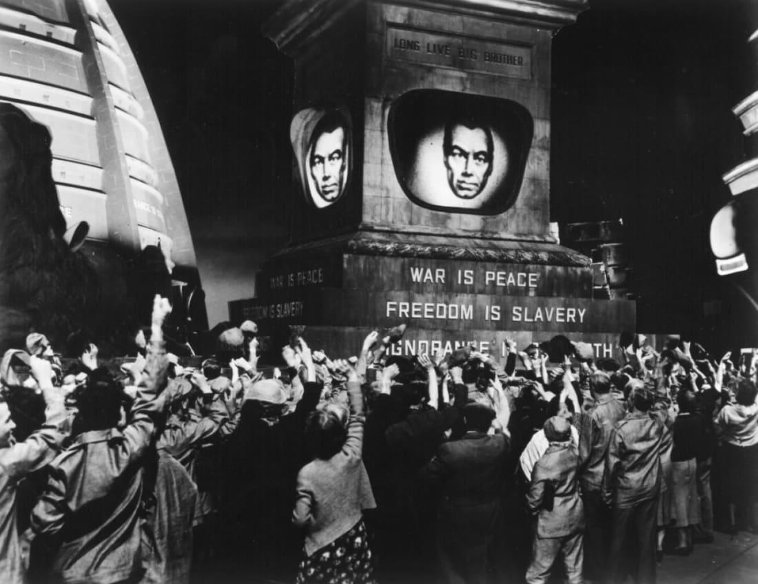 1984 Movie Still, CosmicCatacombs.com