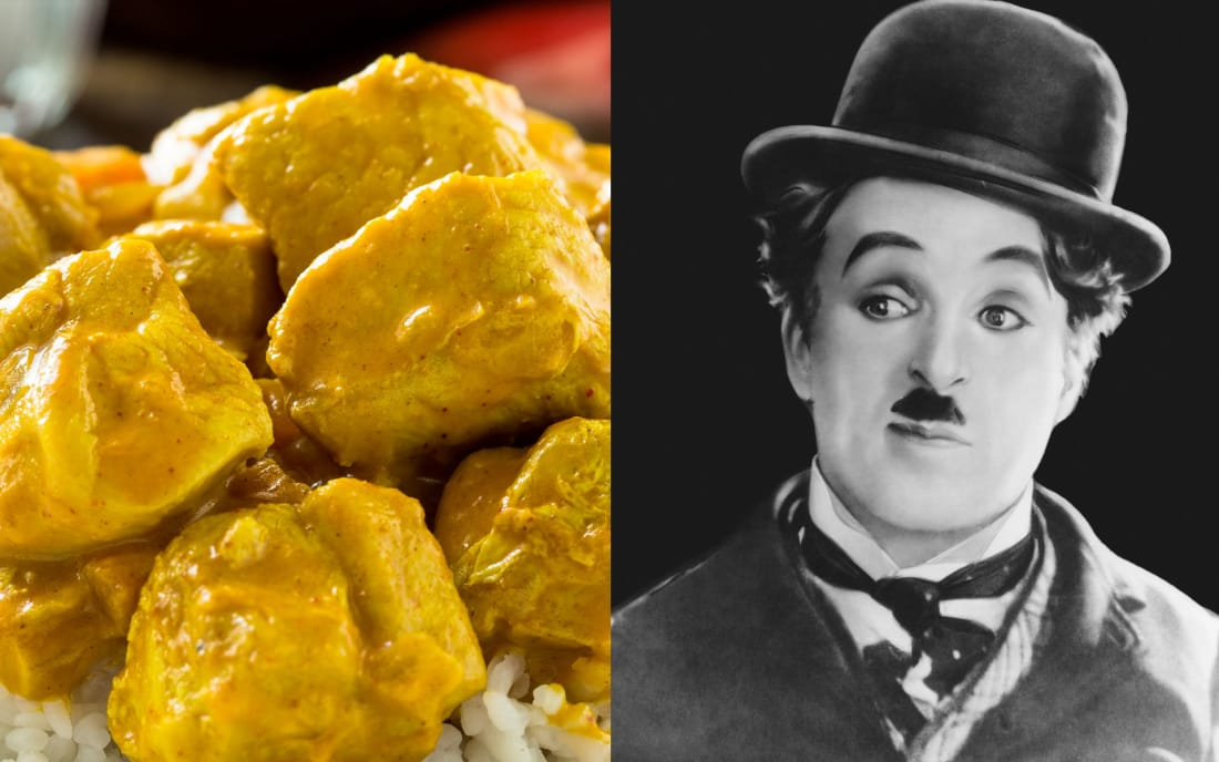 Charlie Chaplin: Lamb Stew OR Curry