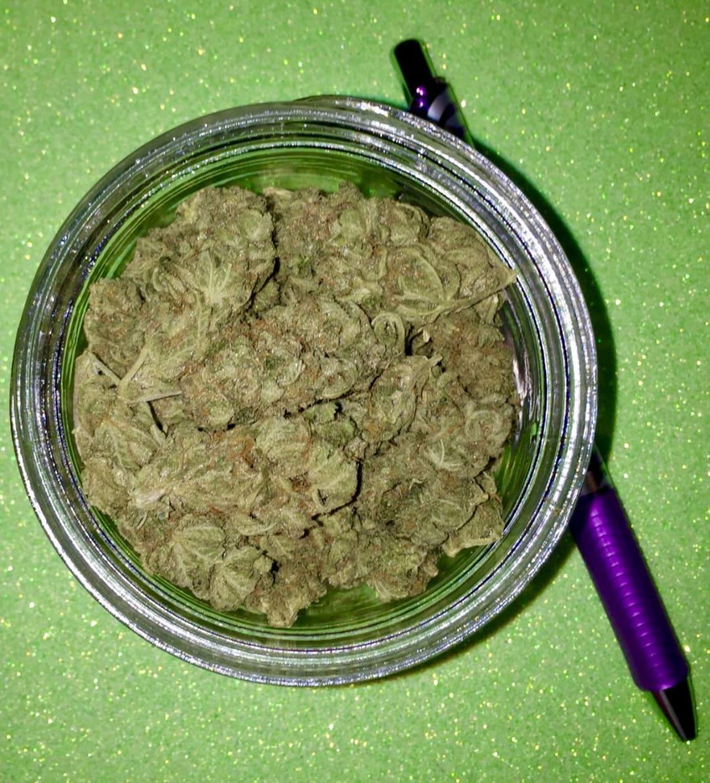 Diesel Marijuana- 20 grams. Photo by Amber Ryan