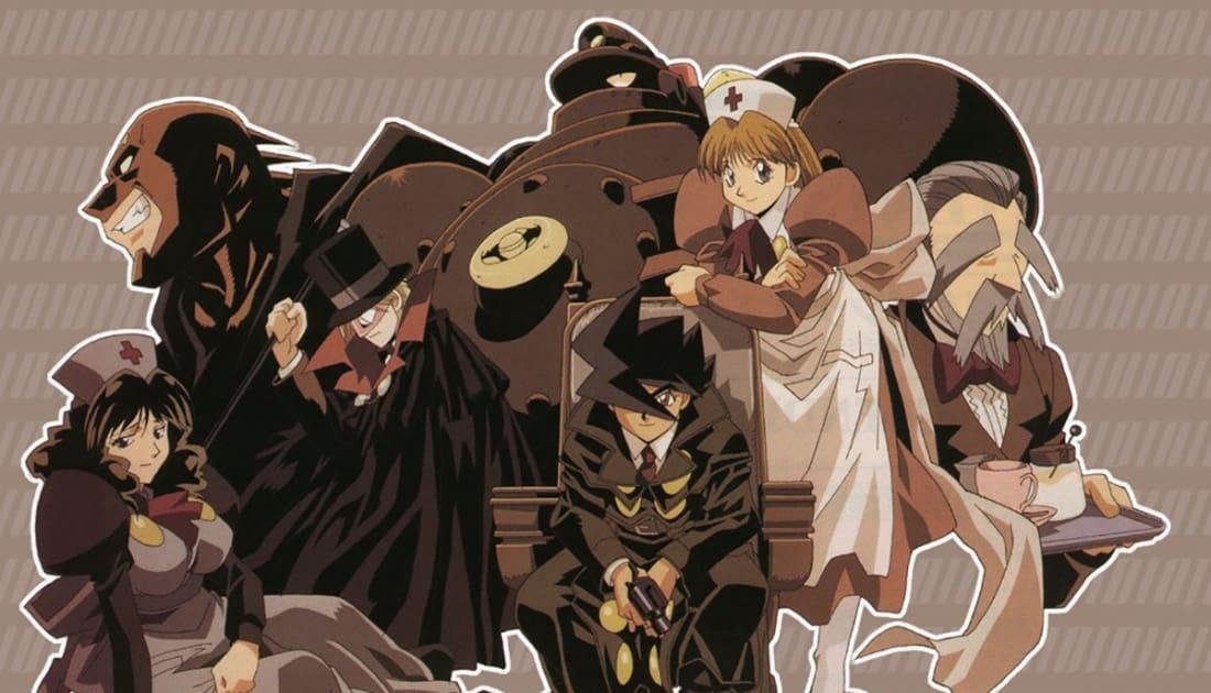 best steampunk anime geeks
