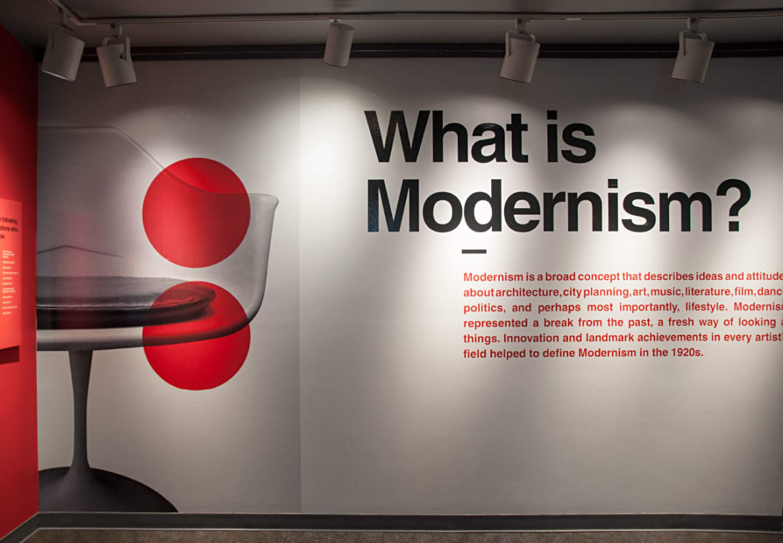 Via Modernism Exhibit