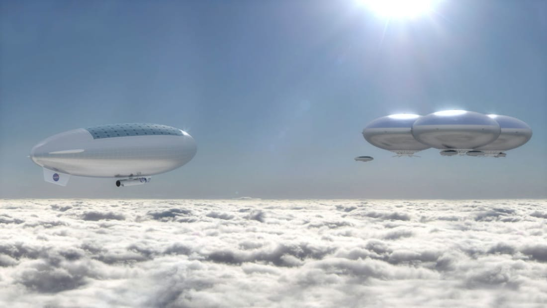 Future Cloud Cities of Venus