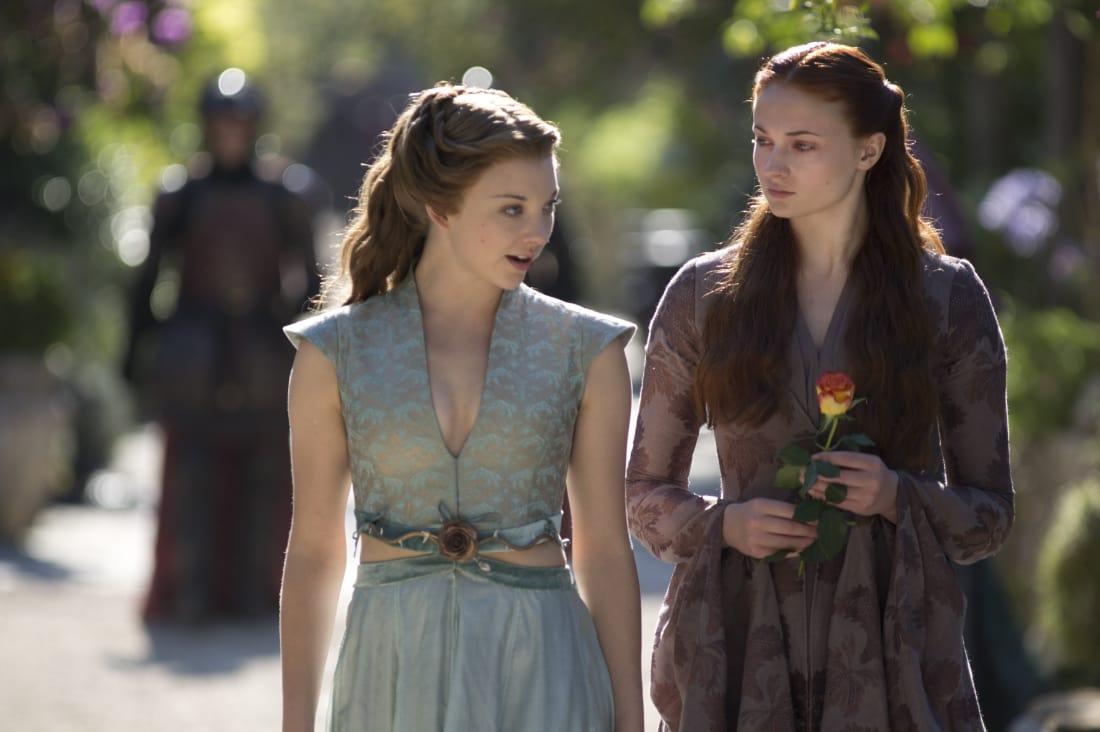 Margaery and Sansa tête-à-tête