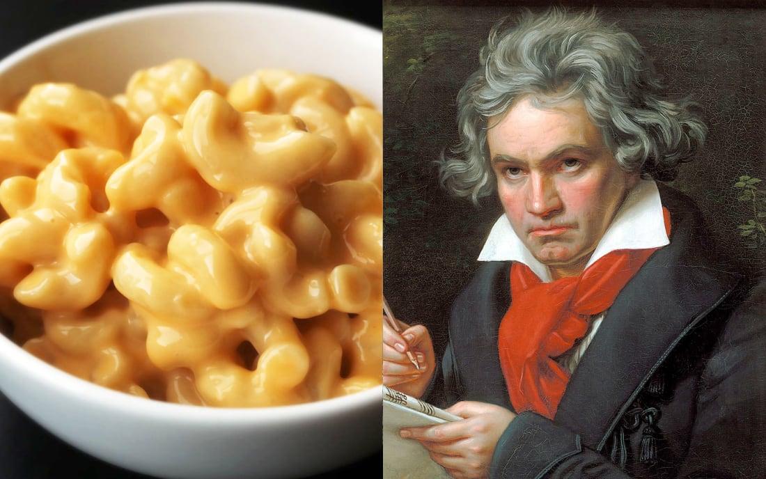 Ludwig Van Beethoven: Soup OR Mac N' Cheese