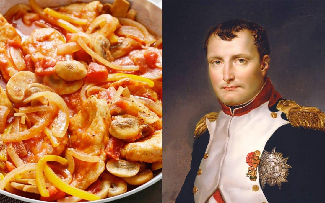 Napoleon Bonaparte: Marengo Chicken