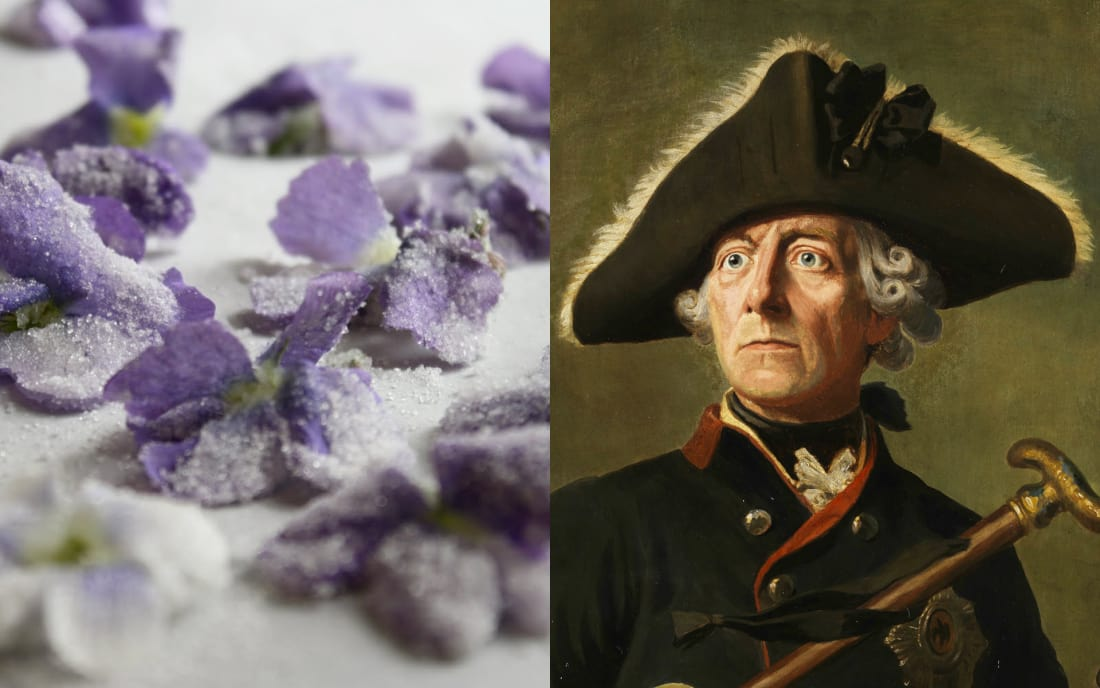 Frederick II: Candied Violets