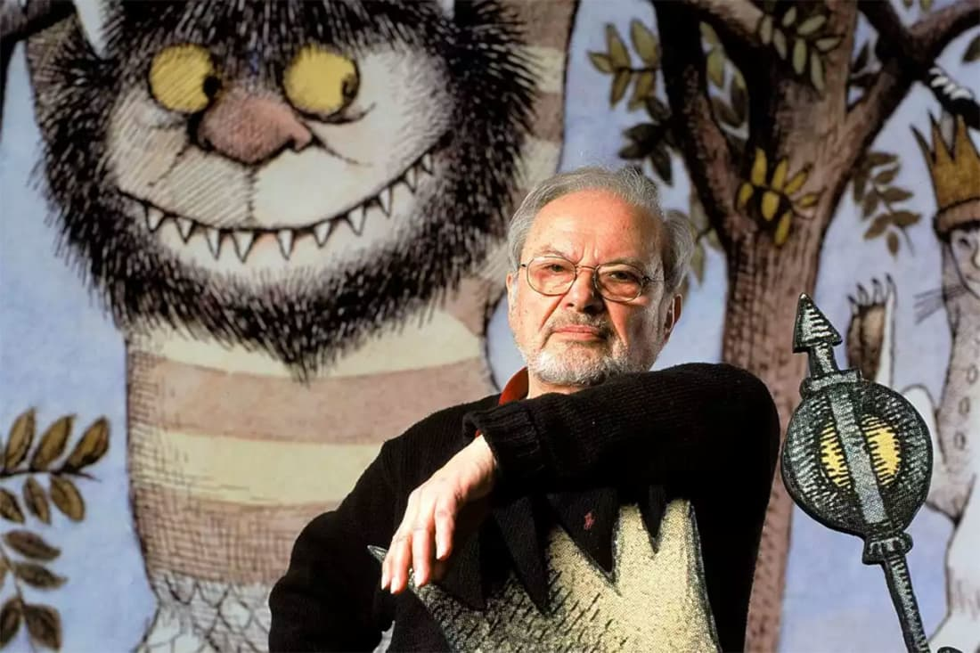 Photo of Maurice Sendak